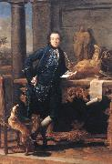 BATONI, Pompeo Portrait of Charles Crowle oil